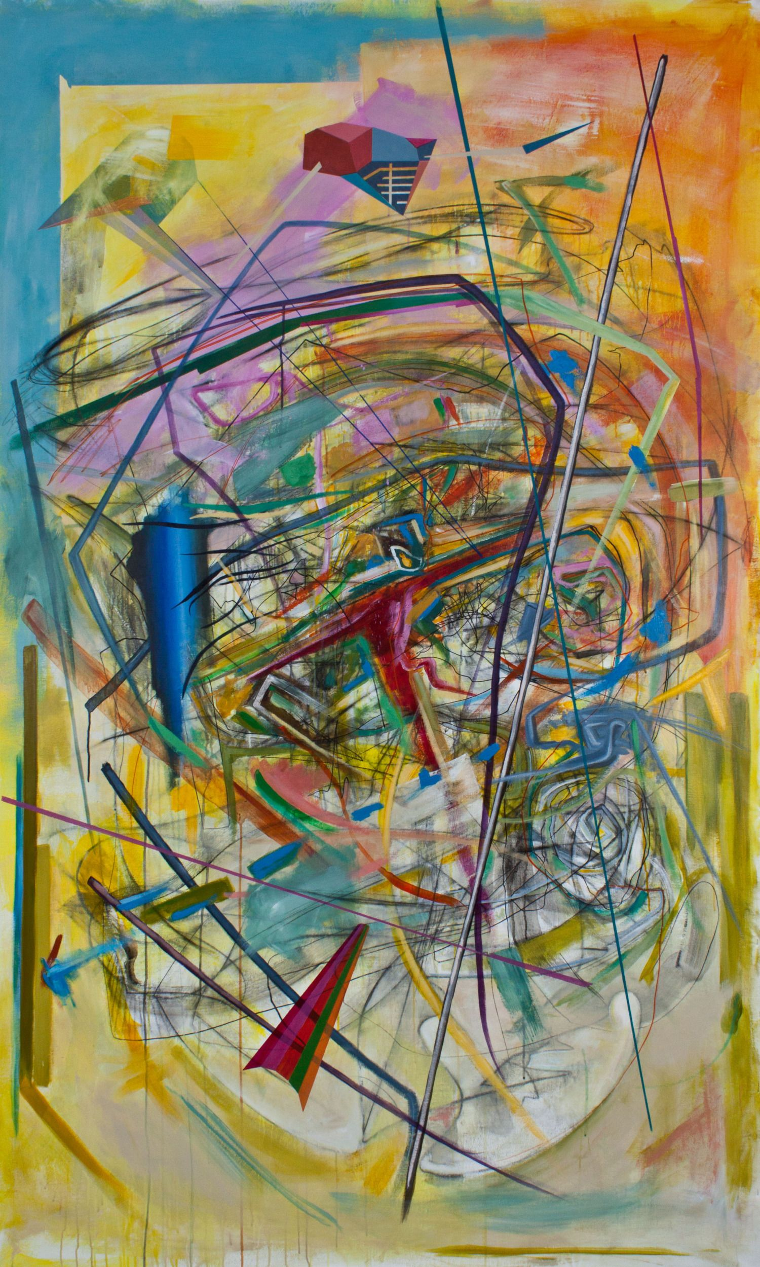 Contemporary Art Painting Sculpture And Architectural Art Glass