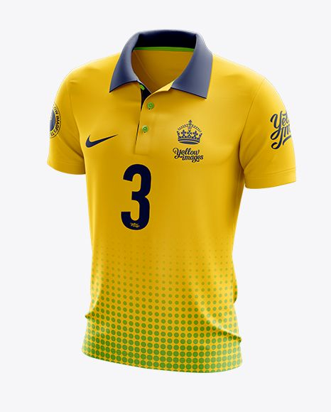 Download Soccer Polo T Shirt Mockup Halfside View In Apparel Mockups On Yellow Images Object Mockups Shirt Mockup Tshirt Mockup Clothing Mockup