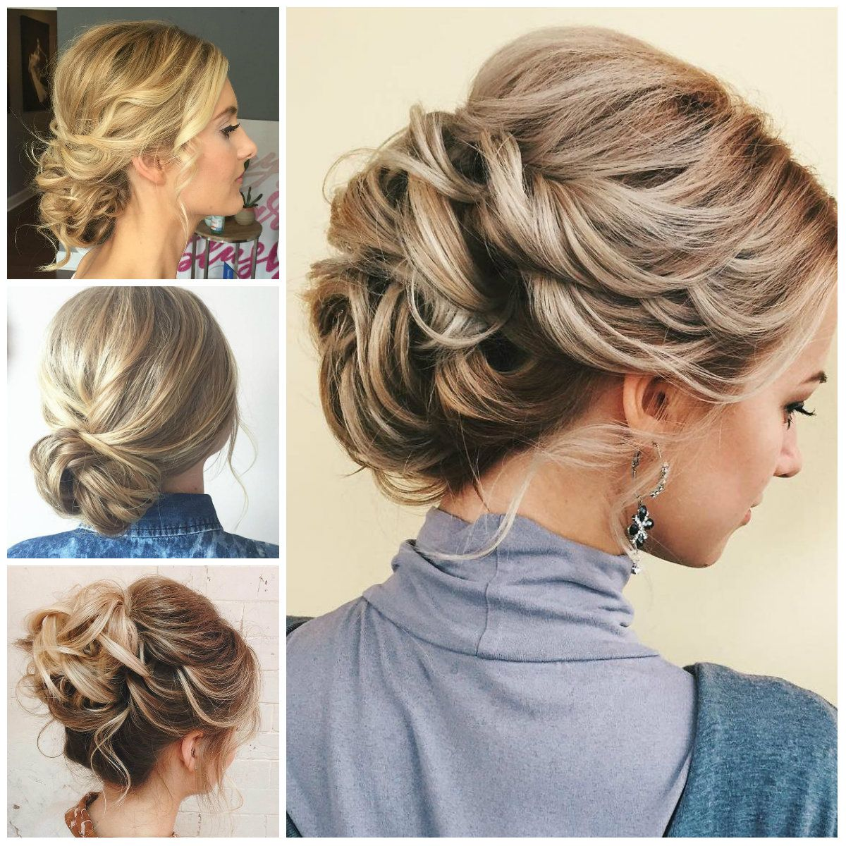 updos for thin hair for 2017 | hair | thin hair updo, hair