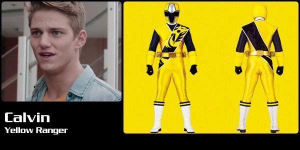 Calvin Yellow Ninja Steel Ranger Power Rangers Ranger