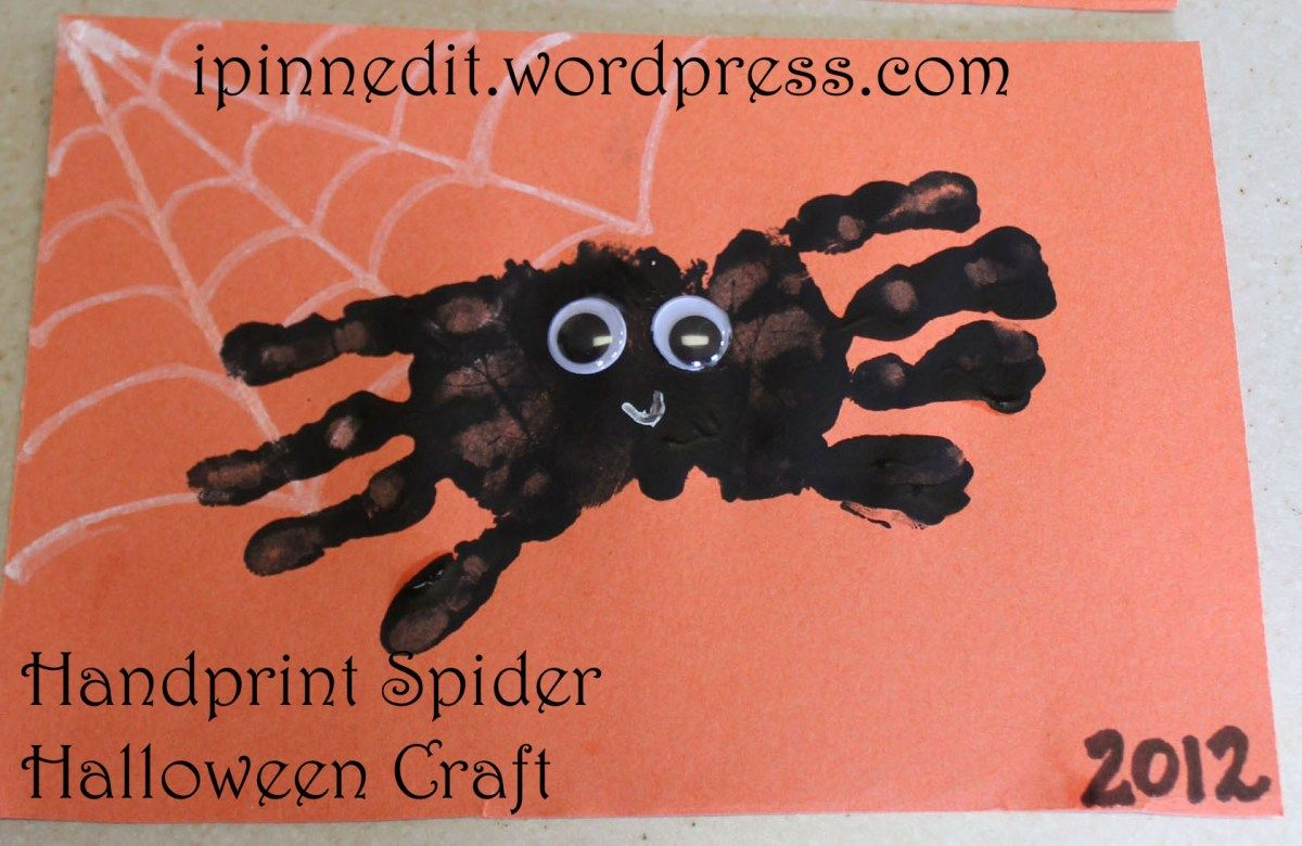 22+ Hand print crafts for halloween ideas in 2021