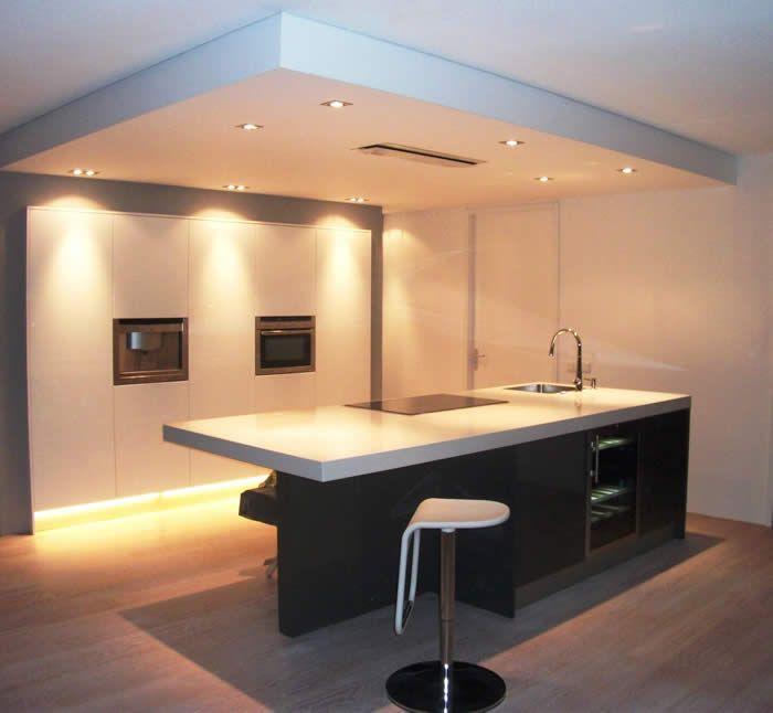 Faux plafond éclairage indirect Housing idea Pinterest Salons