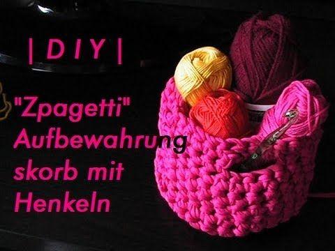 Zpagetti Aufbewahrungskorb Mit Henkeln Diy 8 Bastelanleitungen