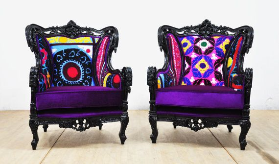 RESERVED For RYAN: 2 X Vintage Armchairs