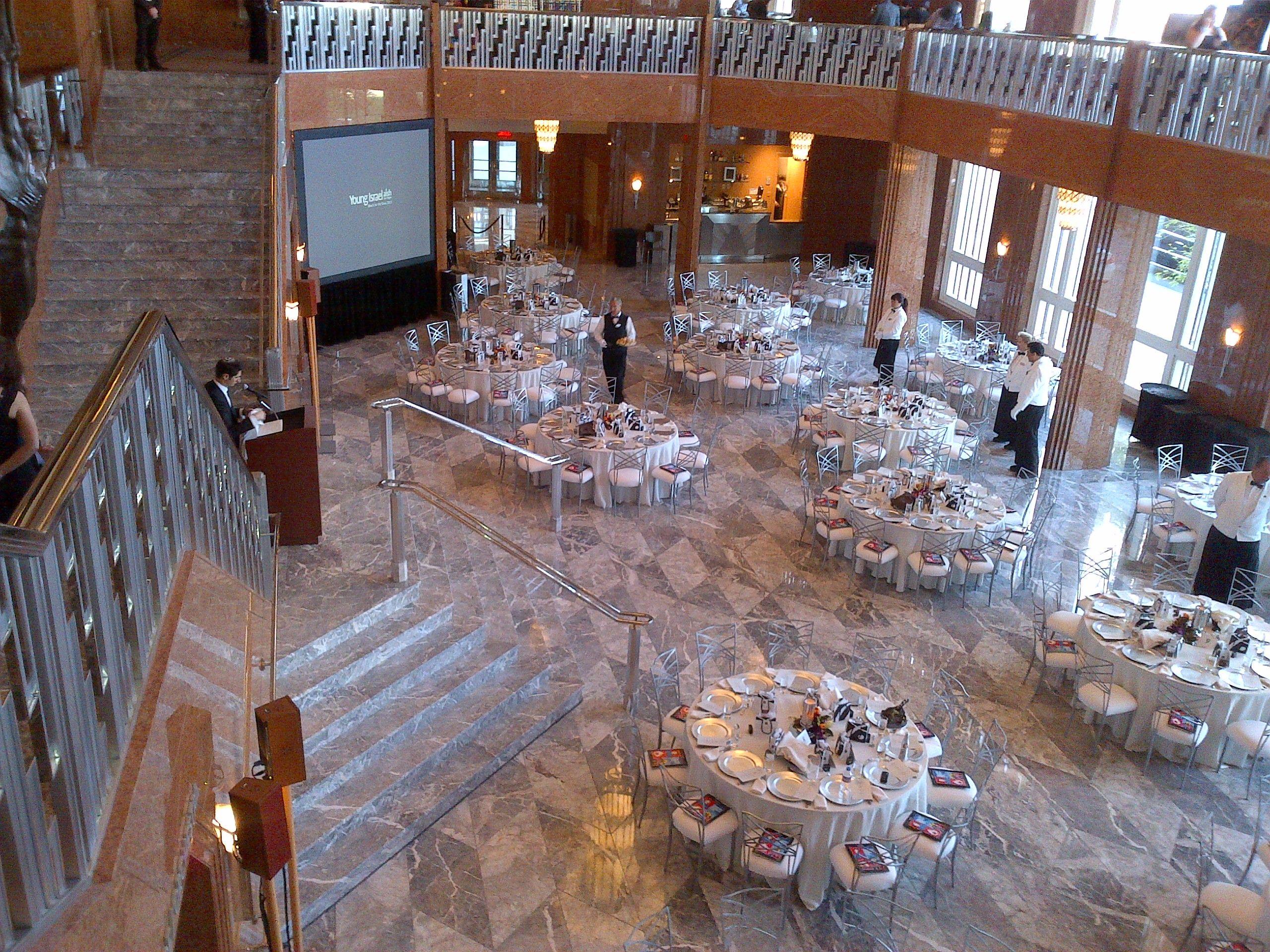 Reception In Grand Lobby At The Smith Center Las Vegas Nv Las Vegas Weddings Las Vegass Smith Center