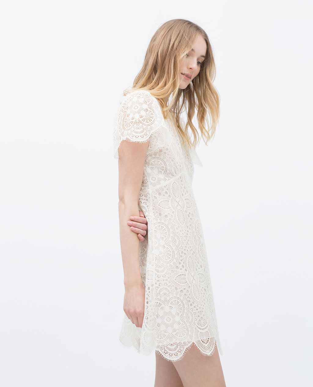 2019Vestidos Vestido Mujer En Zara Encaje SzMVpUGq