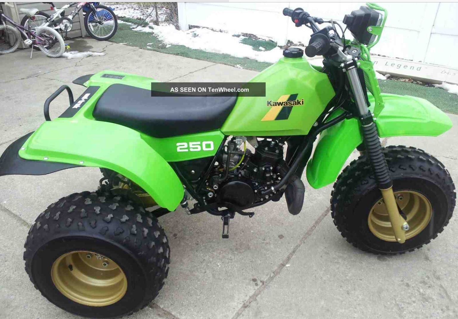 1984 kawasaki kxt250 tecate Dirtbikes, Bike Cart, 4 Wheelers, 3rd Wheel,  Atvs