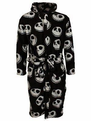 Nightmare Before Christmas Jack Skellington NBX Bathrobe Gown