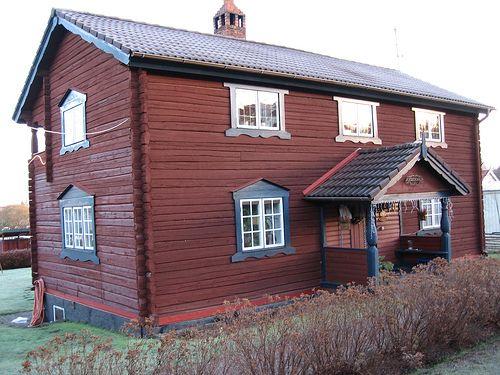 Traditional Swedish House In Mora Swedish House Scandinavian Home Country House Decor