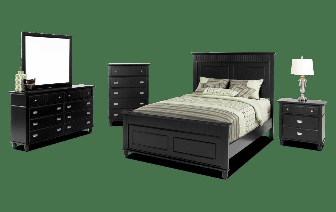 Spencer Queen Black Bedroom Set Grey Bedroom Set Black Bedroom Sets Bedroom Set