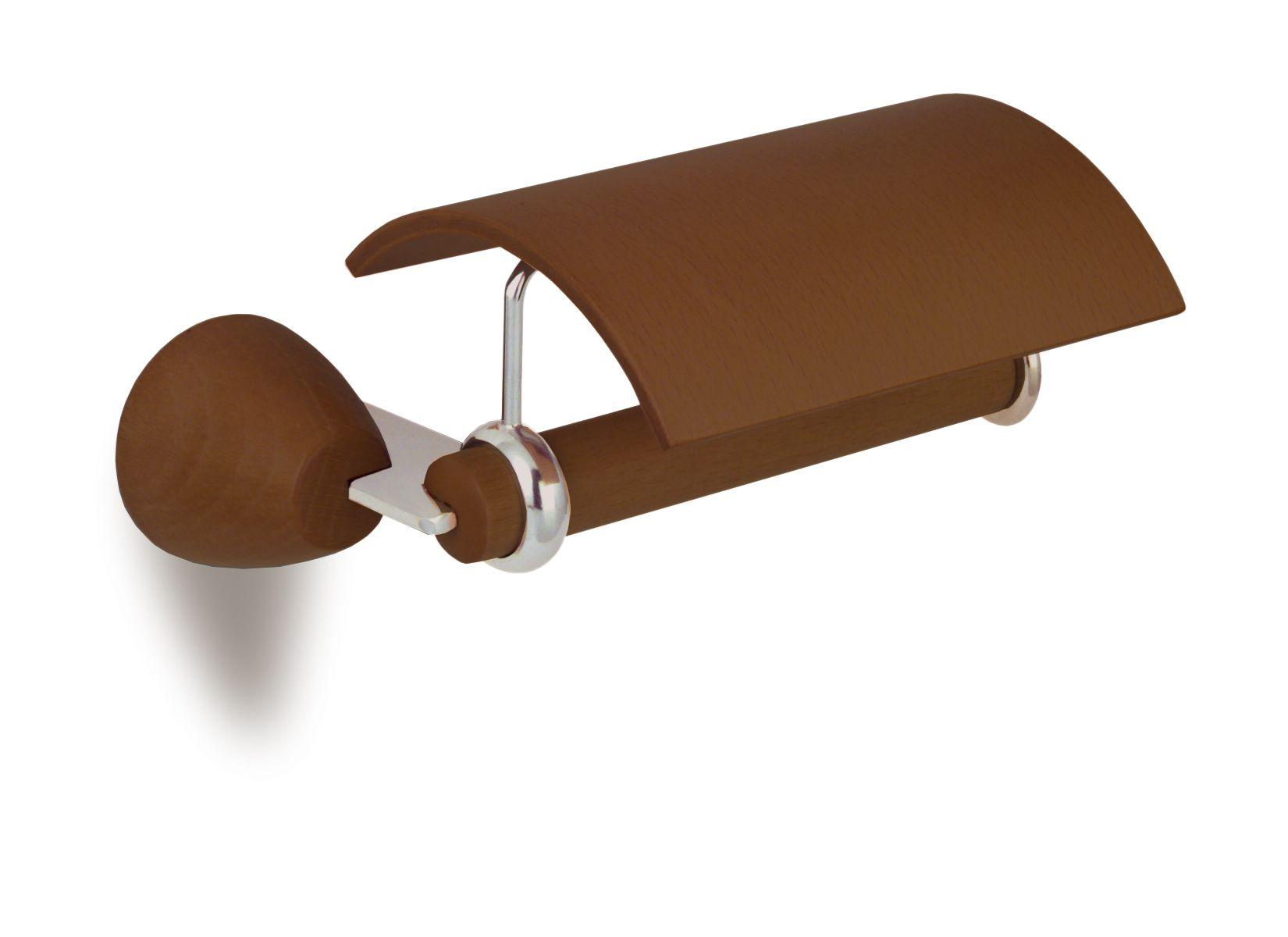 Secret Bath. Wooden toilet paper holder. Walnut. Testa collection ...