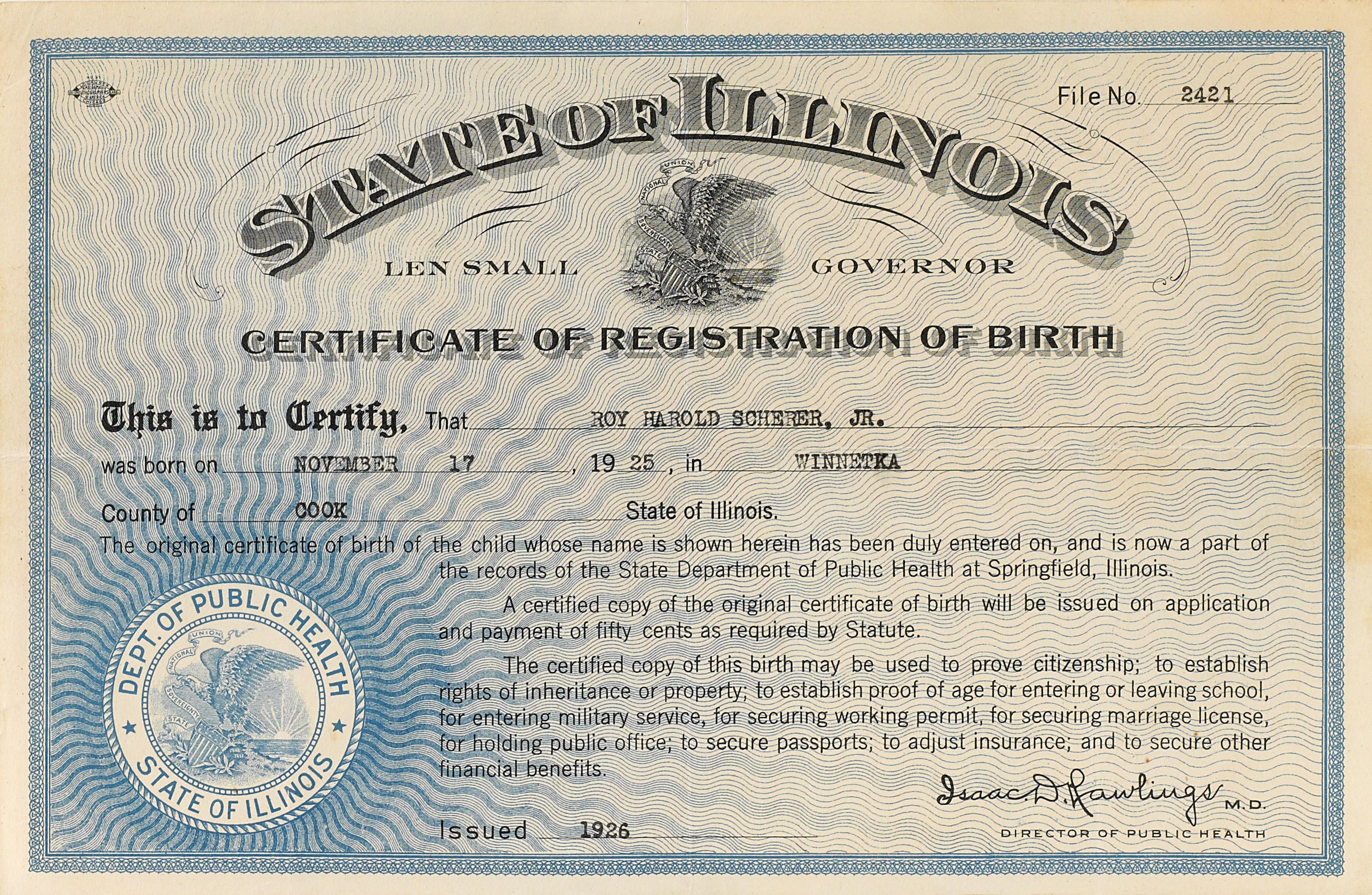 19th Century Birth Certificate Google Search Country Reference