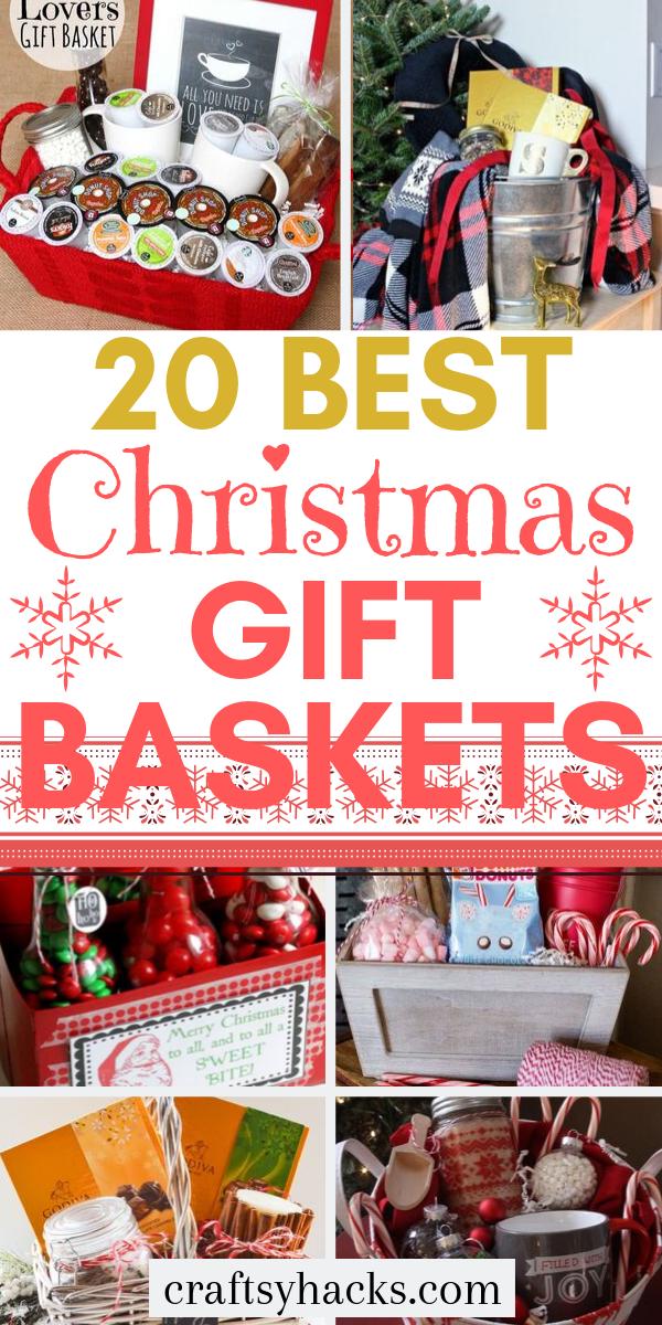 20 Best Christmas Gift Baskets, 2020 (Görüntüler ile)