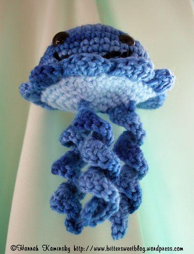 Jellyfish free crochet pattern by Bitter Sweet | Stitch & bitch ...