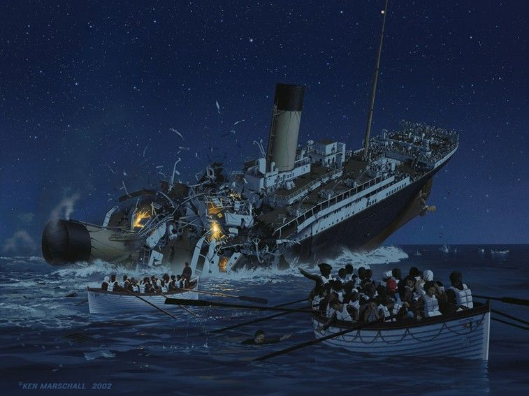 The 96th Year…   Best Titanic, Titanic sinking and RMS Titanic ideas