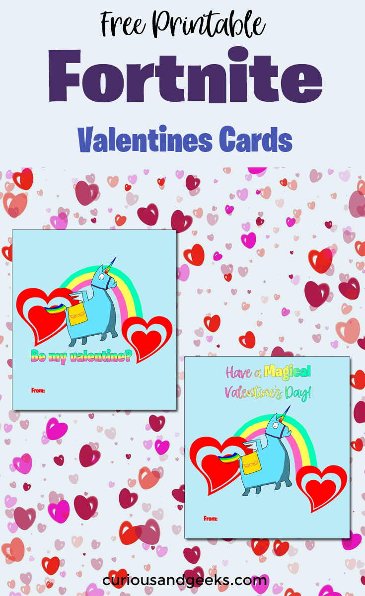 Fortnite Valentines Day Cards With Free Printable Valentine S Day