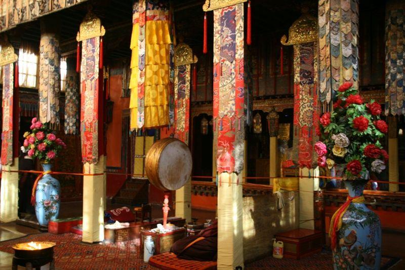 Norbulingka interior through the eyes of mrolin tibet