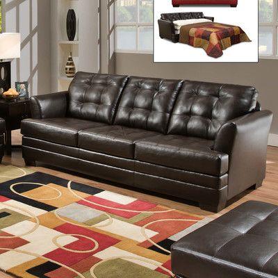 Simmons Upholstery Manhattan Sleeper Sofa U0026 Reviews | Wayfair