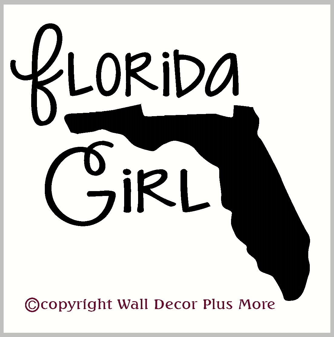 State Girl Vinyl Car Window Decals Choose Your State Silhouette Car Decals Vinyl Car Decals Vinyl Lettering [ 1111 x 1103 Pixel ]