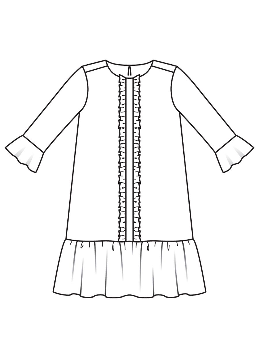 Znalezione obrazy dla zapytania sukienka 117 burda 6/2017