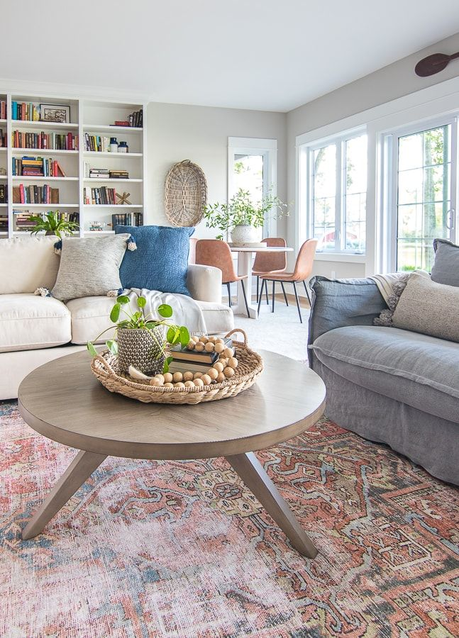 Photo of Round Coffee Table and Weekend Sales – The Lilypad Cottage