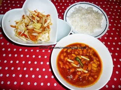 Cannellini beans curry also known as white kidney beans cannellini beans curry also known as white kidney beans authentic vegetarian recipes forumfinder Gallery