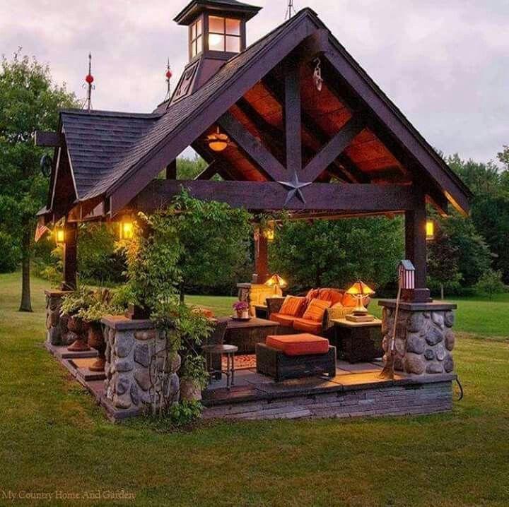 Outdoor Ideen, Terassenideen, Hinterhofideen, Outdoor Plätze, Leben Unter  Freiem Himmel, Gartenideen, Pavillon Ideen, Snuggles, Pith Perfect