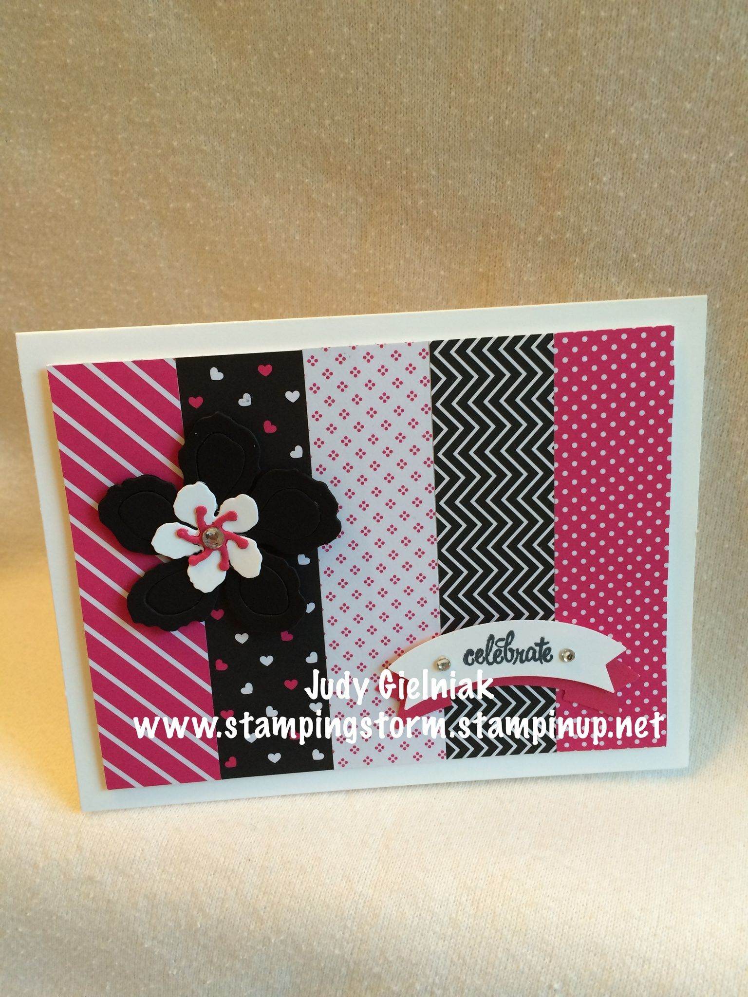 Pop of pink dsp botanical flowers duet banner puch wmatching order stampin up product online from me anytime and see my projects and events independent demonstrator and creative kristyandbryce Gallery