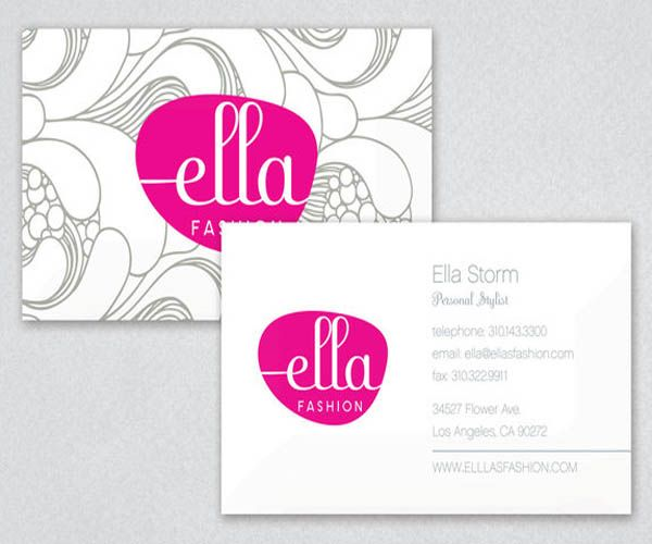 Ella Fashion Business Card | Business Cards | Pinterest | Nice ...