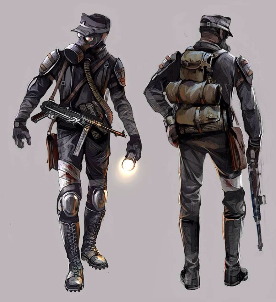 Apocalyptic Soldier Pics: Metro Redux - The Fourth Reich