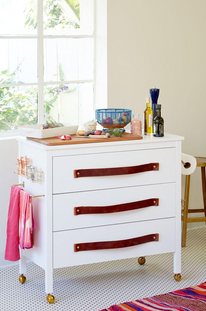 Diy Kitchen Dresser Ikea Hack Emily Henderson Gepimpte