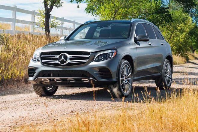 The Mercedes Benz GLC Class is the 2017 Motor Trend SUV of the Year