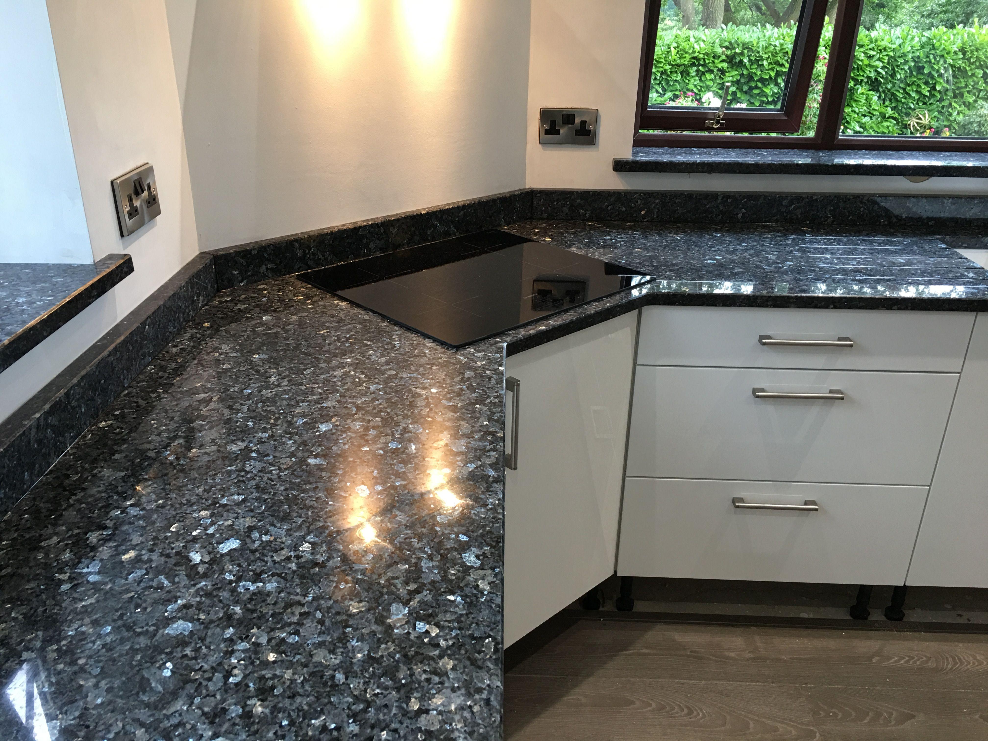 Blue Pearl Granite Kitchen Worktops Interior Kitchen Small