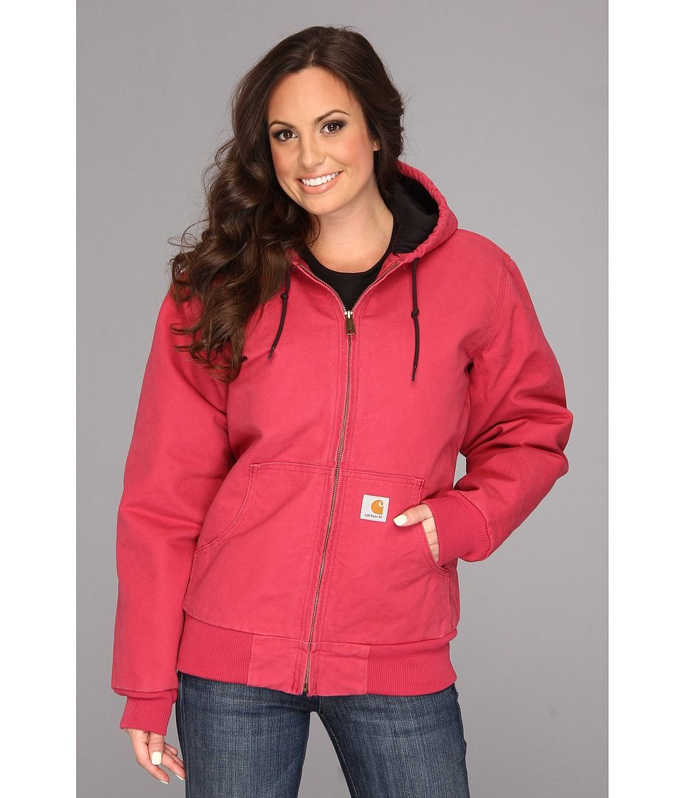 Carhartt Carhartt Sandstone Active Jacket Crab Apple Women S Coat Carhartt Cloth Carhartt Jacket Jackets Active Jacket [ 1120 x 960 Pixel ]