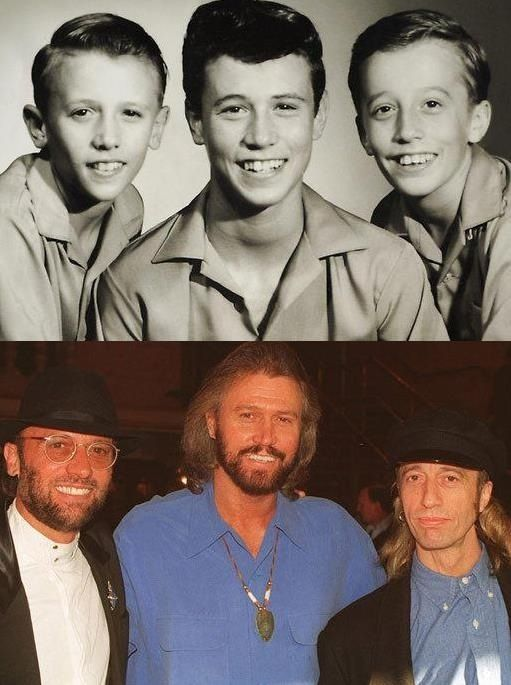 Bee Gees Singer Songwriter Robin Gibb Dies At 62 Photos And Premium High Res Pictures Bee Gees Barry Gibb Gees