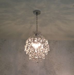 Chrome bedroom furniture foter home decorating pinterest clear crystal mini chandelier light in chrome finish beautiful for over my bathtub aloadofball Choice Image