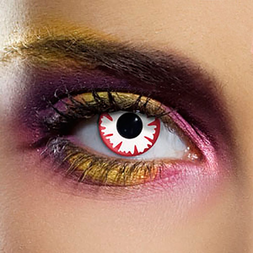 EDIT 90 Day Coloured Contact Lenses (Demon)