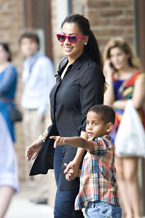 Kiyan With His Mummy In Tom And Drew Looking Super Cute Stylish Kids Celebs Fashion