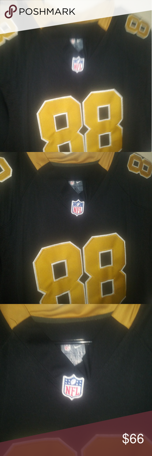 Dez Bryant Saints Black Gold Jersey Of Injury Wideout Of The