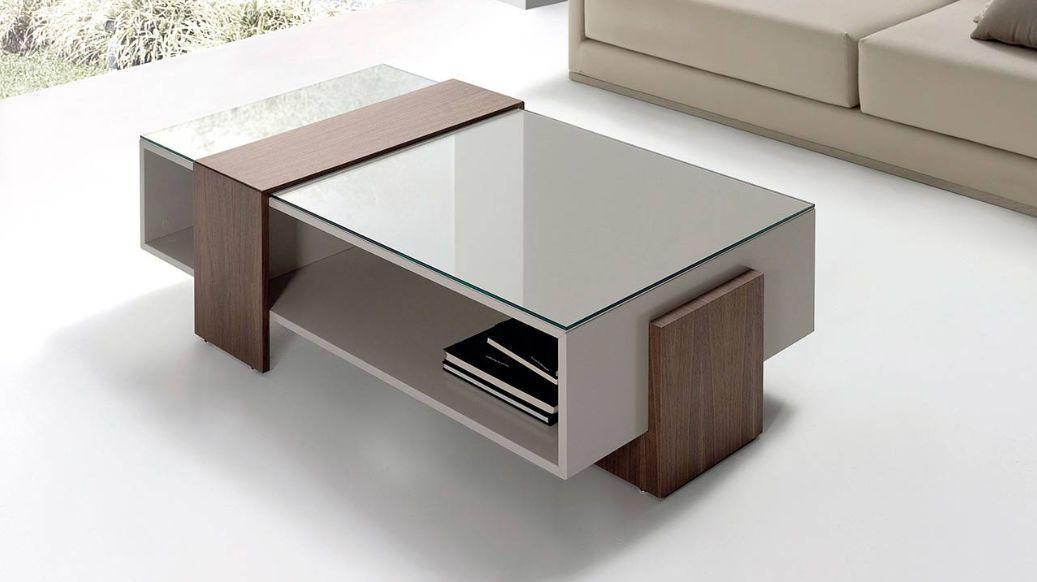 Mesa de centro   moderna   de vidrio   de interior - MIJO by Planum