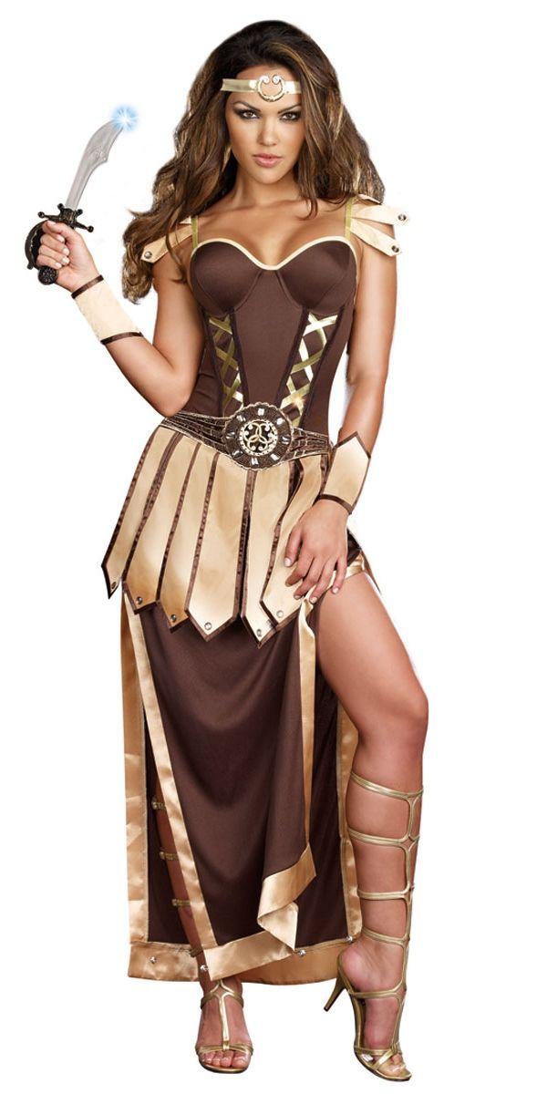 D guisement inspir de x na guerri re romaine inspiration antique pinterest guerriers - Deguisement grece antique ...