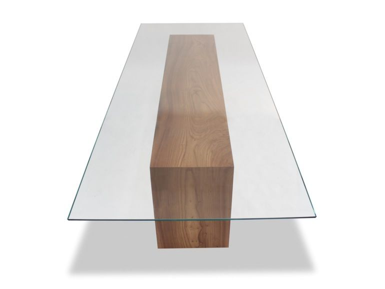 Glass Top Solid Wood Dining Table Midcentury Modern Glass Dining Room Table Modern Glass Dining Table Glass Top Dining Table Glass Dining Room Table