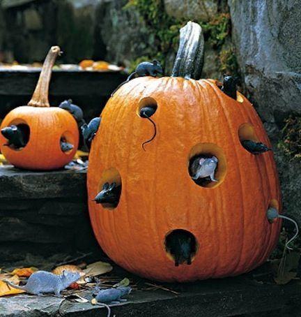 40 Ideas para adornar tu calabaza este Halloween Pumpkin carvings