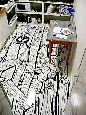 Floor Painting Ideas painted floor designs | posted on november 22, 2008tanya