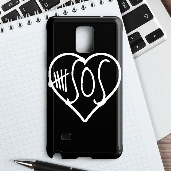 5sos logo set daisy samsung galaxy note 4 case casefantasy