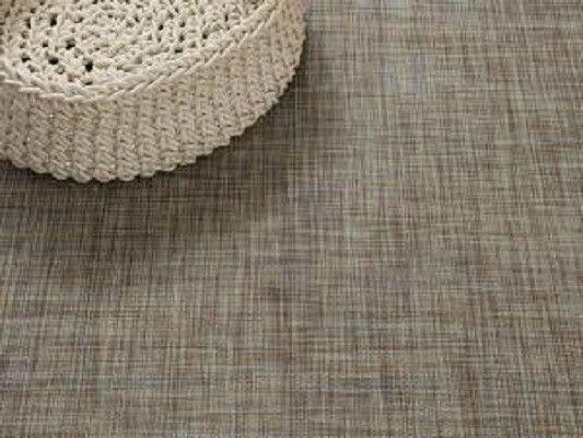 Chilewich Mini Basketweave Woven Floor Mat Basket