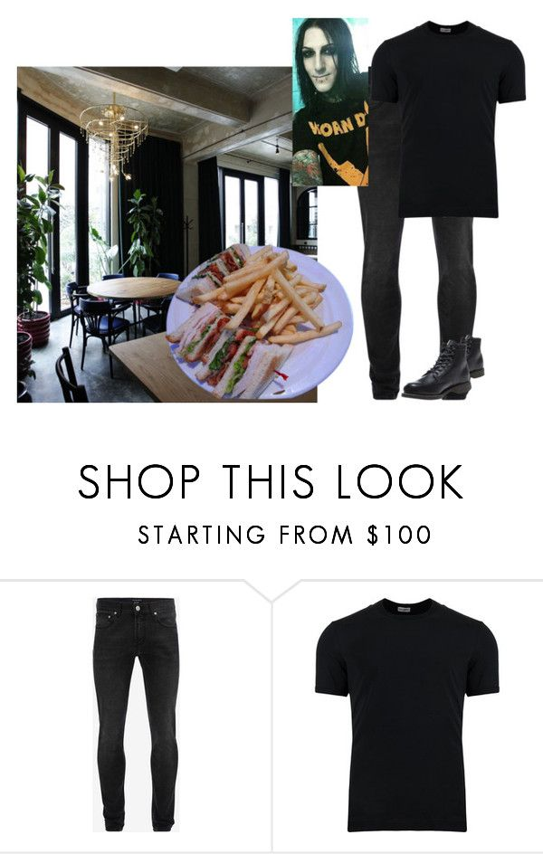 """RP: Lunch meeting"" by alishataylor ❤ liked on Polyvore featuring Volta, Alexander McQueen, Dolce&Gabbana, Wolverine, men's fashion and menswear"