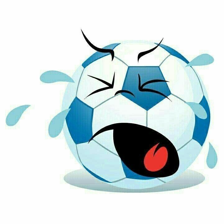 Image result for Balon de futbol llorando
