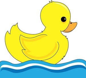 baby duck clip art duck clipart image little duck bobbing up and rh pinterest com baby donald duck clipart baby duck clipart
