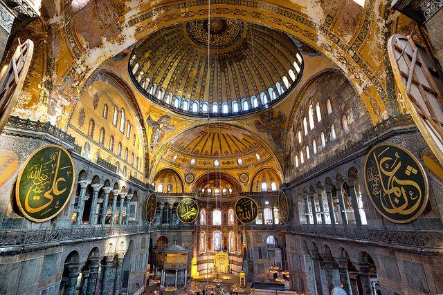 Hagia Sophia From The Second Floor Hagia Sophia Places In Europe Top European Destinations